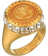 Versace - Crystal Detail Medusa Ring