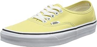 vans femme carreaux jaune