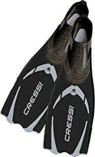 Cressi Adult Snorkeling Full Foot Pocket Fins made with Advanced Technology | Pluma: made in Italy