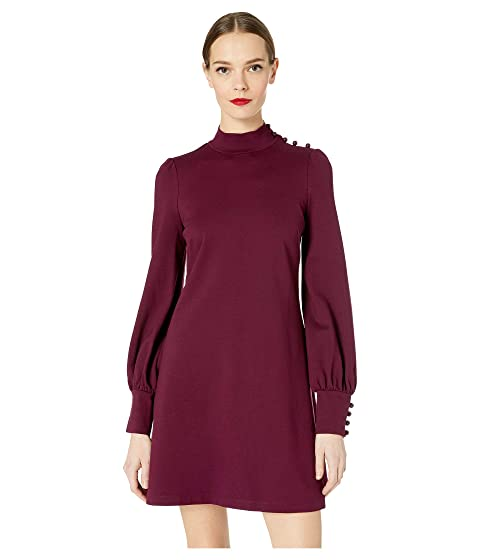 Kate Spade New York Broome Street Mock Neck Ponte Dress