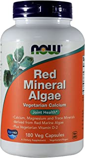 NOW Foods Red Mineral Algae-180 Vegi Caps