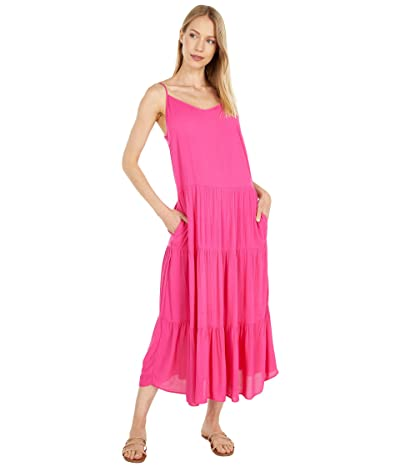 1.STATE Tiered Maxi Dress