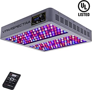 VIPARSPECTRA UL Certified Timer Control 900W LED Grow Light, with Veg and Bloom Channel Full Spectrum Plant Grow Lamps for Indoor Plants Veg and Flower