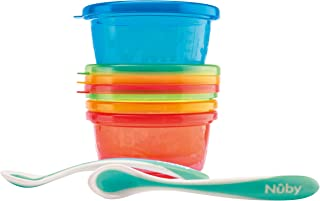 Nuby Lunch set (4 bowls & 2 spoons), 300 ml