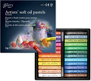 مجموعه پاستل های روغن نرم Soft Mungyo Gallery از 24 رنگ - متنوع