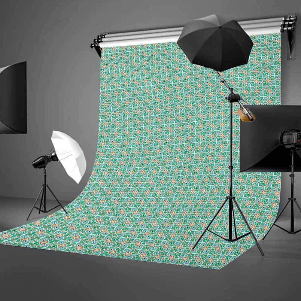 8x12 FT Vinyl Photography Background Backdrops,Vibrant Abstract Hazy Psychedelic Wavy Color Background Hippie Digital Artificial Background for Selfie Birthday Party Pictures Photo Booth Shoot