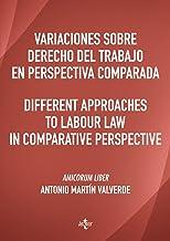 Variaciones sobre Derecho del Trabajo en perspectiva comparada. Different approaches to Labour Law in comparative perspect...