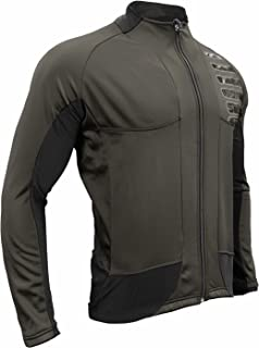 Urban Cycling Reflector Winter Softshell Thermal Jersey Jacket