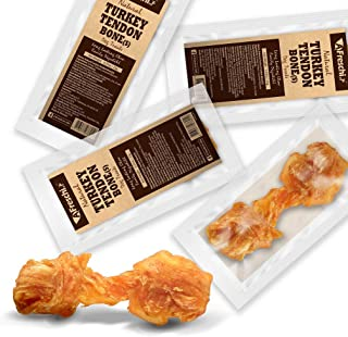 AFreschi Turkey Tendon for Dogs, Premium All-Natural,...