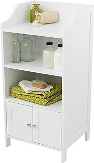House & Homestyle Storage Cabinet, White, H 86cm x W 41cm x D 36cm