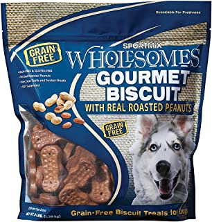 SPORTMiX Basted Biscuit Hickory Smoked Flavor Dog Biscuit Treats