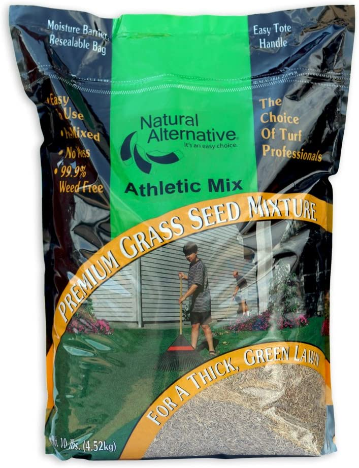 Natural Alternative Grass Seed for High lb. Arlington Limited time for free shipping Mall Areas 5 120 Traffic