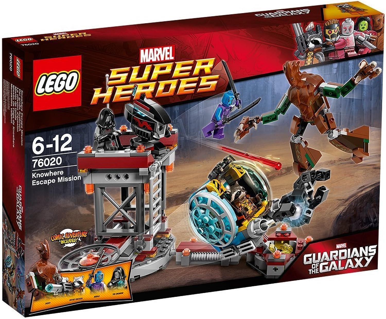 LEGO Marvel Super Heroes 76020 - Der groe Ausbruch