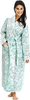 Women's Lightweight Cotton Kimono Robe, Summer Bathrobe