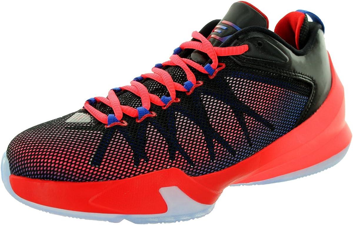 Jordan Nike Kids CP3.VIII AE BG Black/Gm Royal/SPRT Rd/Pnk Pw Basketball Shoe 5 Kids US