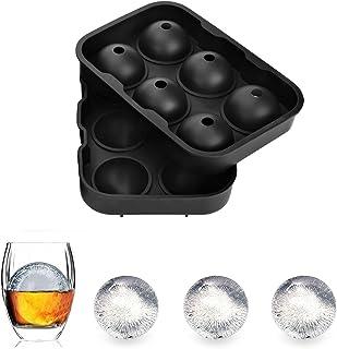 Q-Beau 6個大ボール アイストレー 丸氷 製氷器 製氷皿 直径4.5cm