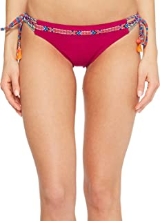 Nanette Lepore Women's Cha Cha Cha Vamp Tie Side Hipster Bikini Bottom