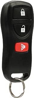Key Fob Keyless Entry Remote fits Nissan Frontier Armada Murano Pathfinder Quest Sentra Titan Versa Xterra / Infiniti QX4 FX35 FX45 (KBRASTU15)