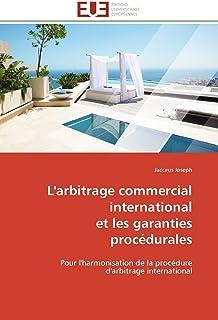 L'arbitrage commercial international  et les garanties procédurales (OMN.UNIV.EUROP.)