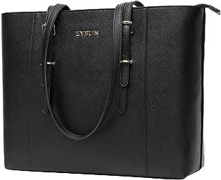 Laptop Bag,Laptop Bag for Women 15.6 Inch Professional Briefcase Sleek Work Tote Shoulder Bag for Office Ladies Teachers Saleswomen