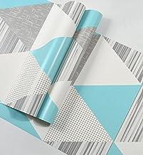 Special/Simple Wallpaper Living Room Bedroom TV Background Wallpaper 53 * 1000cm Fresh Blue (Color : Fresh Blue, Size : 53...