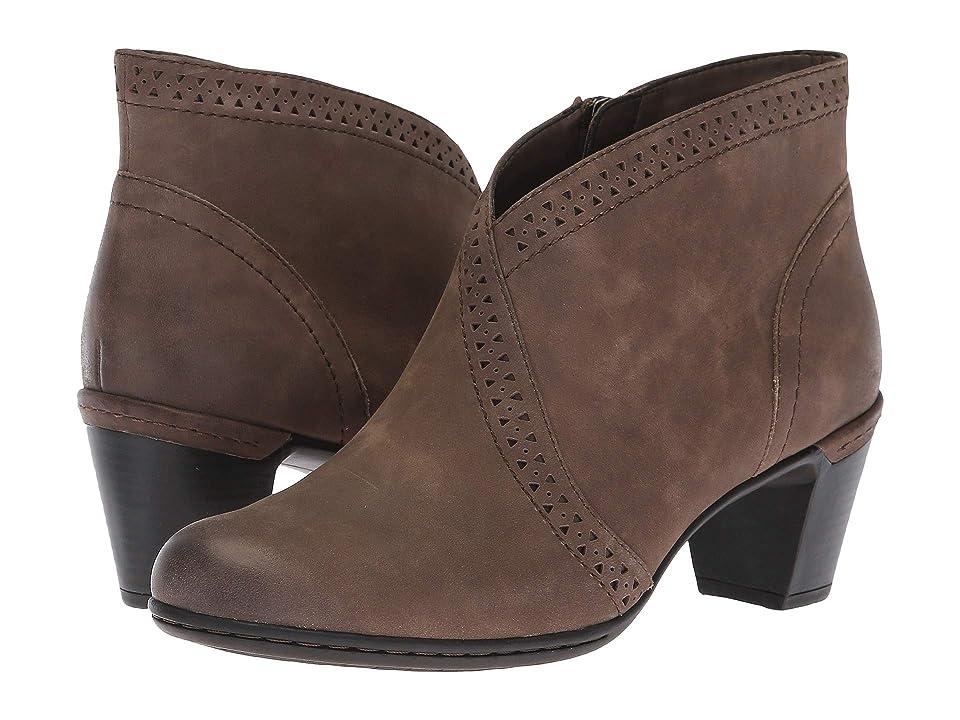 Rockport Cobb Hill Collection Cobb Hill Rashel V Cut Boot (Stone) Women