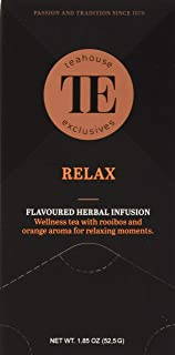 Teahouse Exclusives Luxury Tea Bag Relax, 52.9 g