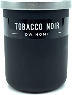 DW Home Travel Size Tobacco Noir Scented Votive Candle in Black Jar with Lid, 4 oz.