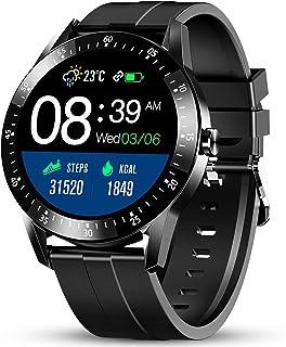 GOKOO Reloj Inteligente Hombres Smartwatch Monitor de Actividad con 24 Modos Deportivos Pulsómetro Calorías Monitor de Sue...