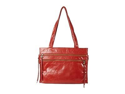 Hobo Borne (Brick Vintage Hide) Handbags