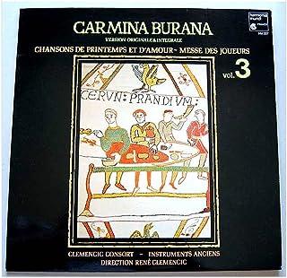 Harmonia Mundi - HM 337 - Carmina Burana - Volume 3 - Version originale et intégrale - Clemencic Consort - René Clemencic - (1 Disque Vinyle 33t LP)