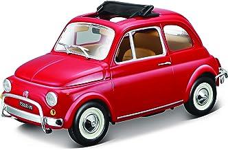 Welly Fiat Nuova 500 mod/èle Auto Licence Automobile Produit 1 39 Emballage dorigine Rouge 34-1