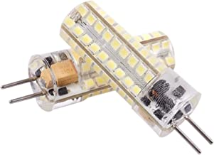 2X 6.5W GY6.35 LED Bulbs 72 2835 SMD LED 320lm 50W Halogen Lamps Equivalent Dimmable Pure White 6000K 360 Degree Beam Angl...