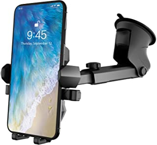 Phone Holder for Car,Universal Long Neck Car Mount Holder Compatible with iPhone Xs XS Max XR X 8 8 Plus 7 7 Plus S10 S9 S...