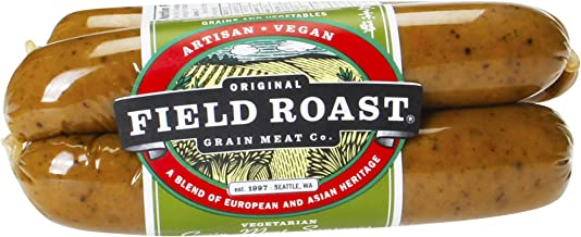 Field Roast Smoked Apple Sage Grain Meat Sausages, 12.95 oz (1 Pack, 4 links total)