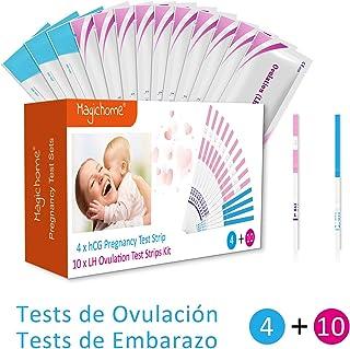 Magichome 10 Tests de Ovulación 25 Miu/Ml, Tiras De Prueba