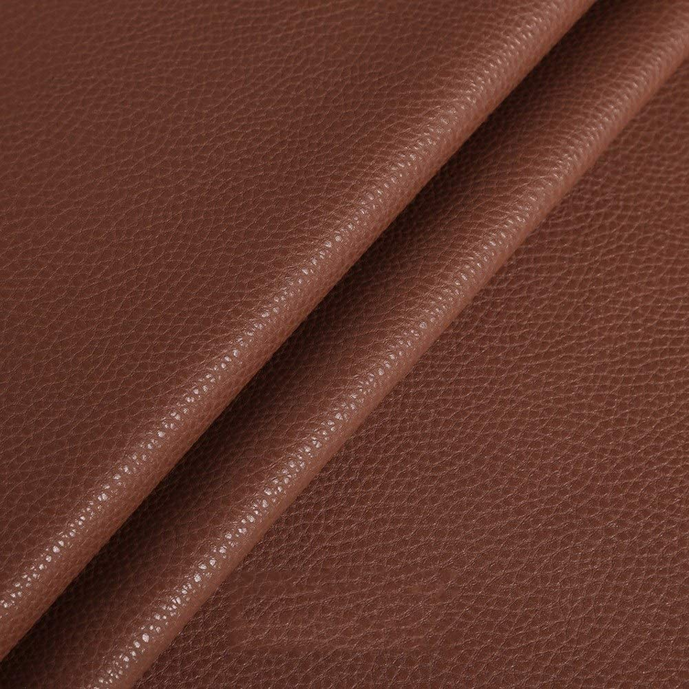 ZDFTCW Faux Leather Sheets by S Grained Very popular Vinyl Meter Super Special SALE held