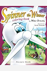 Spinner the Winner - Coloring Book: Coloring Book Paperback