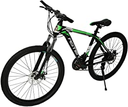 دراجة استر Tsz-S 21 سرعة, اسود/اخضر