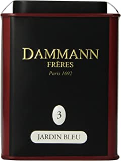 DAMMANN FRERES Jardin Bleu Loose Tea, 3.52 ounce Tin