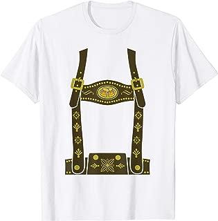 LEDERHOSEN OKTOBERFEST Shirt | German Beer Festival T-Shirt