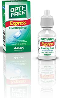 Opti-Free Express Rewetting Drops, 20-mL, Multi, 0.68 Fl Oz (Pack of 1)