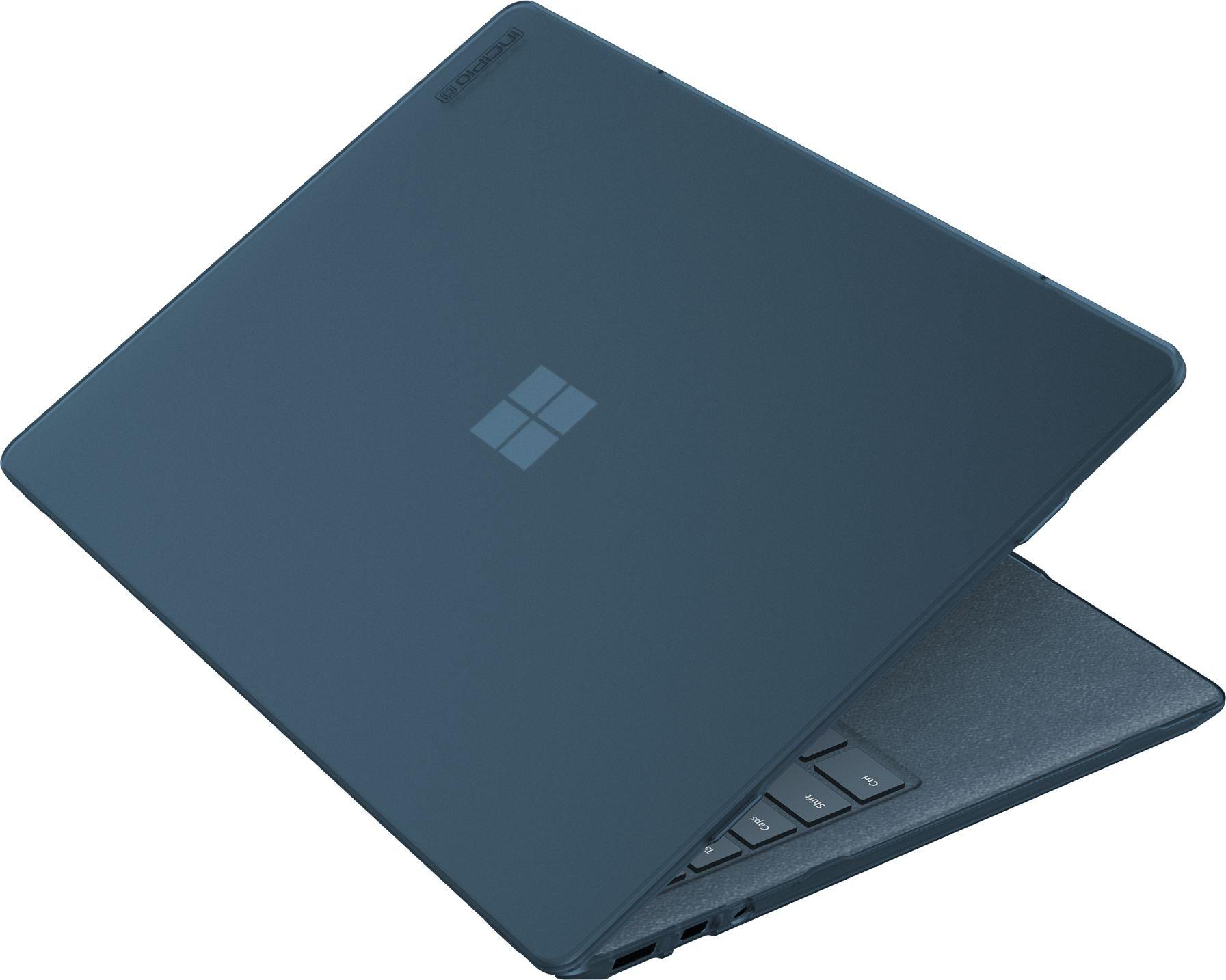 このMicrosoft Surfaceラップトップ用Incipioシェル - マイクロソフト認定保護ケース[軽量&薄型滑り止めフットソフト - タッチコーティング]  - ブルー0