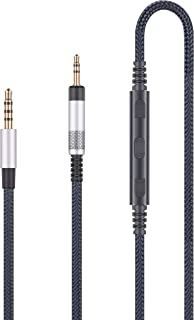 Audio Replacement Cable Compatible with Bose QC25, QC35 II, QC35 Headphone, Audio Cord with in-Line Microphone and Remote ...