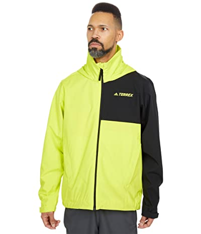 adidas Outdoor Multi RAIN.RDY Jacket (Acid Yellow/Black) Men