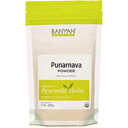 Banyan Botanicals Organic Punarnava Powder – Boerhavia diffusa – for Weight Management, Liver & Kidney Support & More* – 1/2lb. – Non-GMO Sustainably Sourced Vegan