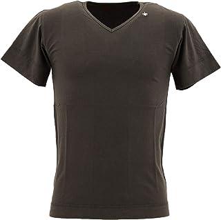 [SWEEP!! スウィープ!!]メンズ コットン 半袖 VネックTシャツ V-NECK SWFJVNK-11 SMOKE(ダークグレー)