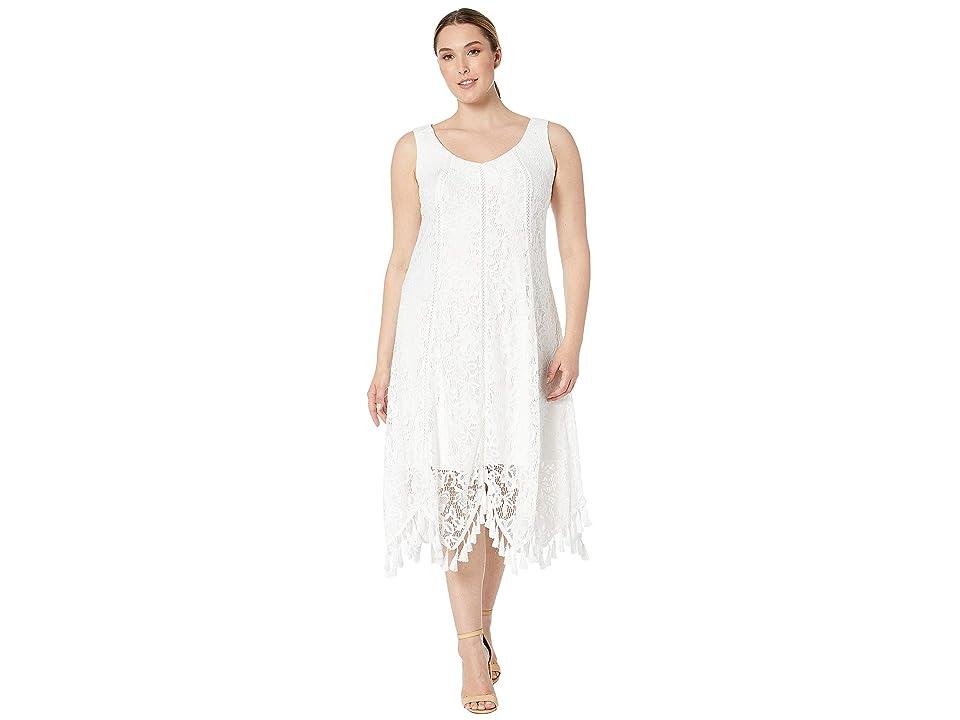 6cf7c6d651800d Taylor Sleeveless Lace Maxi Dress (Ivory) Women