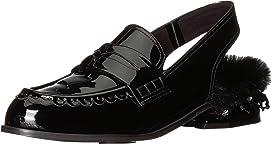 Embellished Back Strap Loafers
