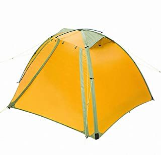 Image of 'N/A' Outdoor Camping Backpack Tent Double Layer Water Resistant Aluminum Alloy Pole Fishing Hunting Adventure Family Party
